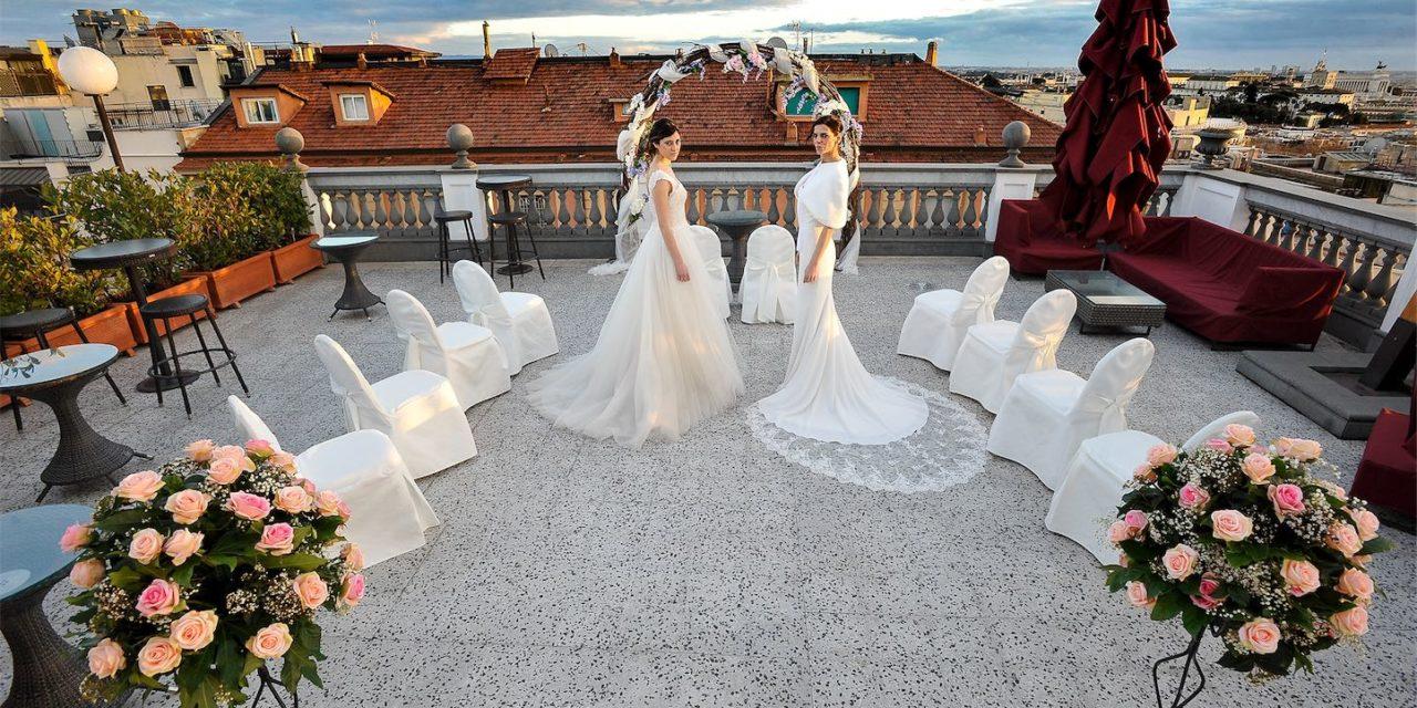 LA VIE EN BLANC PROTAGONISTA DEL TE' DELLE SPOSE DELL'HOTEL SAVOY DI ROMA
