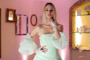Raffinato abito da Sposa La Vie En Blanc Atelier Roma