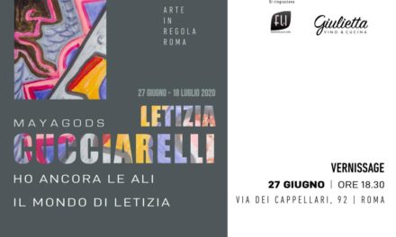 """LETIZIA CUCCIARELLI MIGLIORINI IN MOSTRA A ROMA CON LA PERSONALE """"IL MONDO DI LETIZIA"""""""
