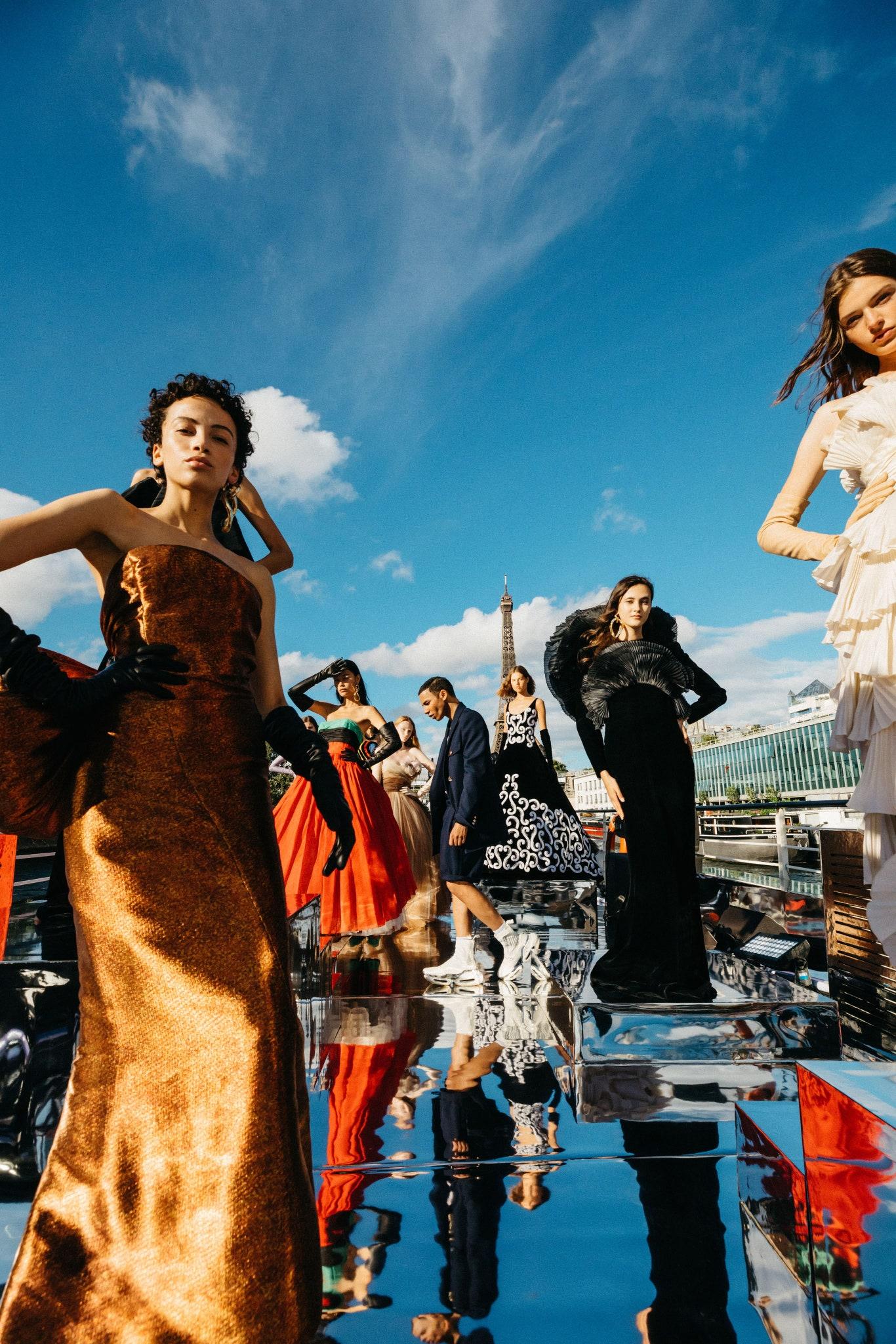 Balmain Couture FW20 - Vogue