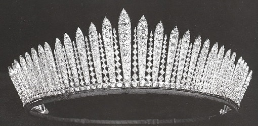 Queen's Mary Fringed Tiara