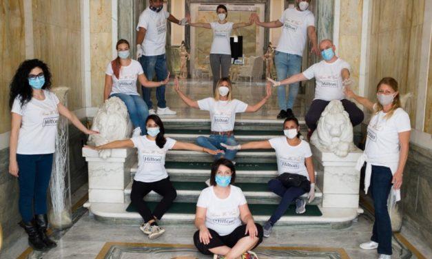 IL TEAM DELL'ALEPH ROME HOTEL E LA COMUNITA' DI SANT'EGIDIO: L'OSPITALITA' DI LUSSO A SOSTEGNO DEI PIU' BISOGNOSI.