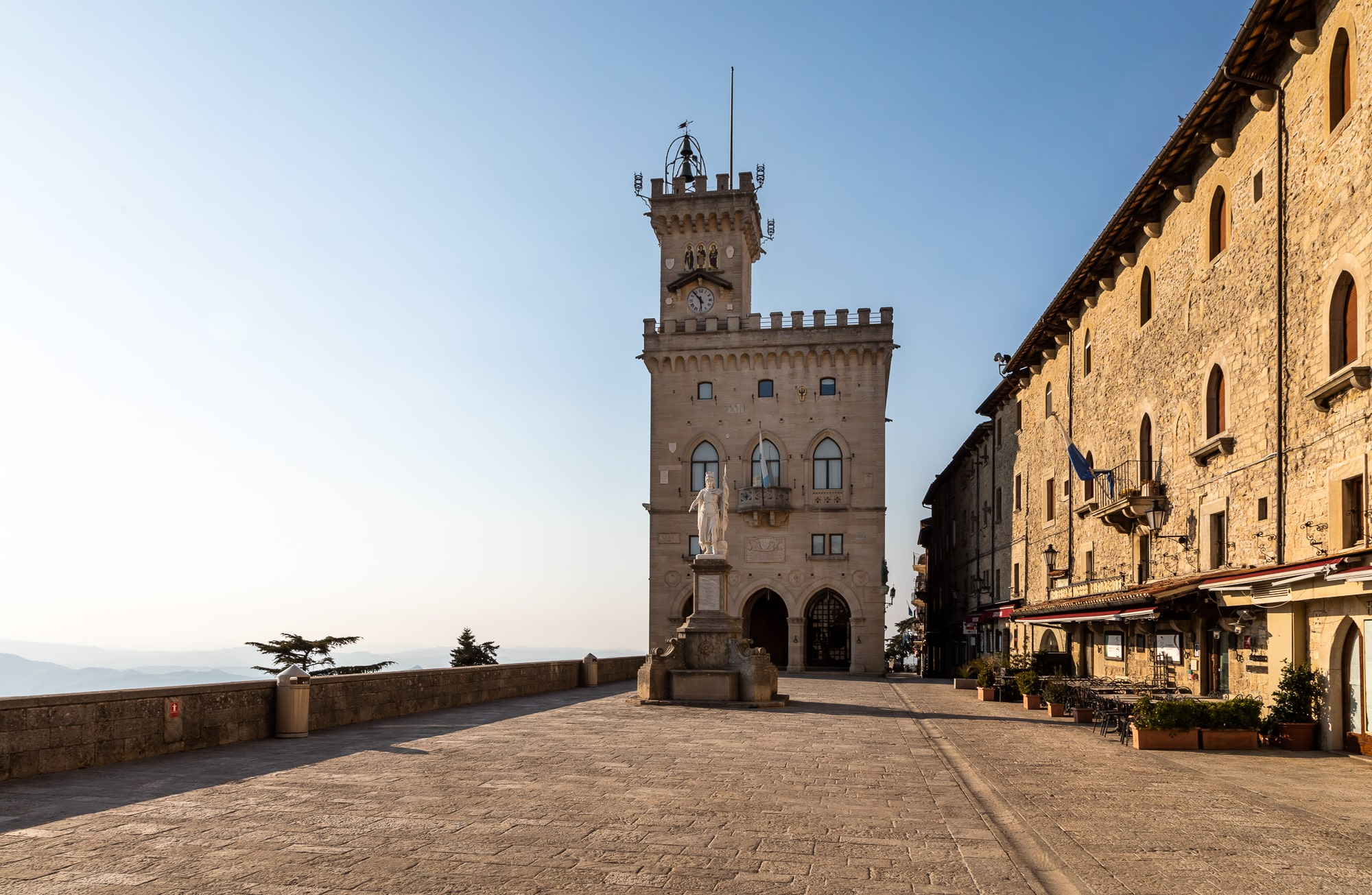 @Visitsanmarino - Piazza della Libertà