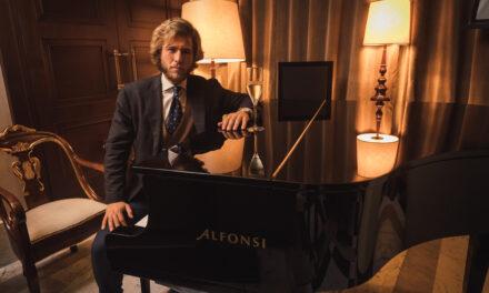 All'Hotel Eden a Roma, Leone Romani presenta il suo nuovo singolo Sabato Sera