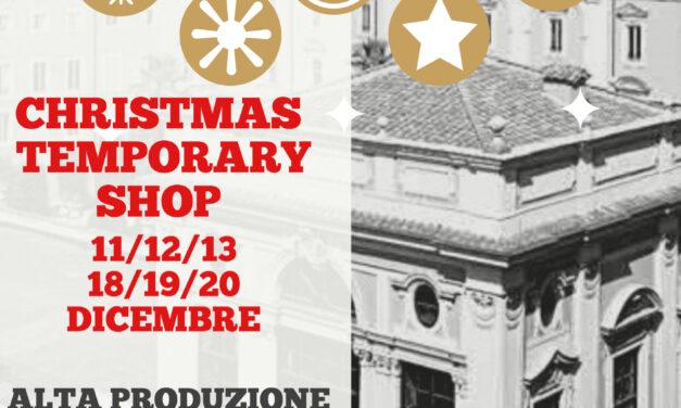 CHRISTMAS TEMPORARY SHOP NELLA COFFEE HOUSE DI PALAZZO COLONNA