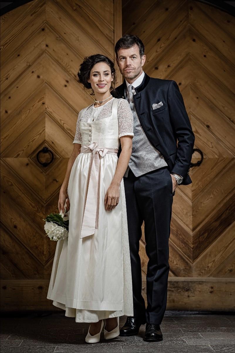 La sposa in Dirndl