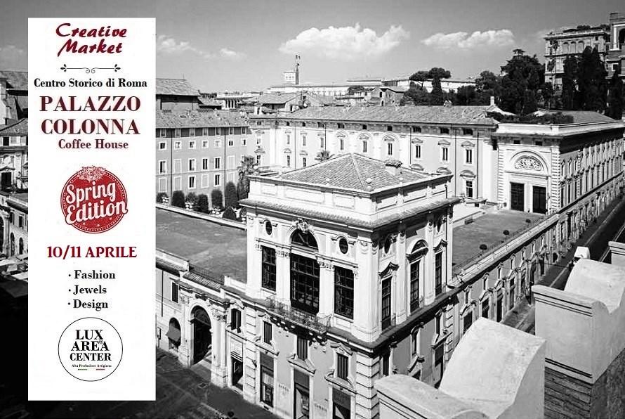 """Lux Area Center """"Artigiani in mostra"""" nella Coffee House di Palazzo Colonna"""