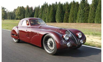 Alfa Romeo 8C 2900 B Le Mans e 33 Stradale, damigelle d'onore del REB Concours di Roma