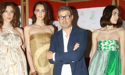 """Vittorio Camaiani presenta la collezione Primavera/Estate 2021 """"Fiocco"""" nella Coffee House di Palazzo Colonna"""